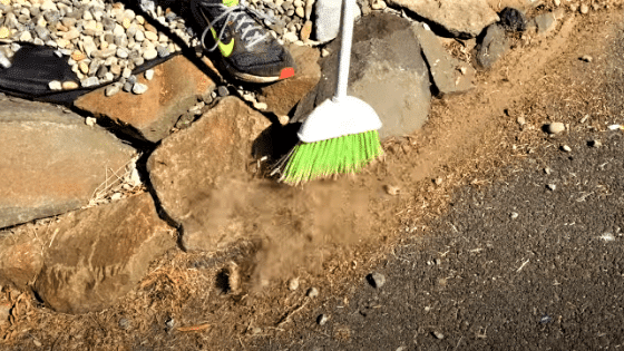 Cleaning the Surface